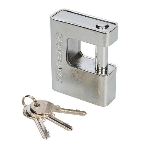 Silverline 380651 Close Armoured Shutter Lock Padlock 80mm